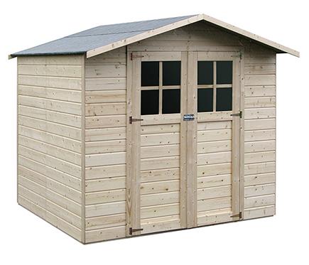 Casetas de madera en Leroy Merlin 2962