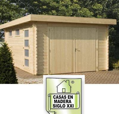 Casetas de madera en madera siglo xxi casas naturales - Casas de madera natural ...