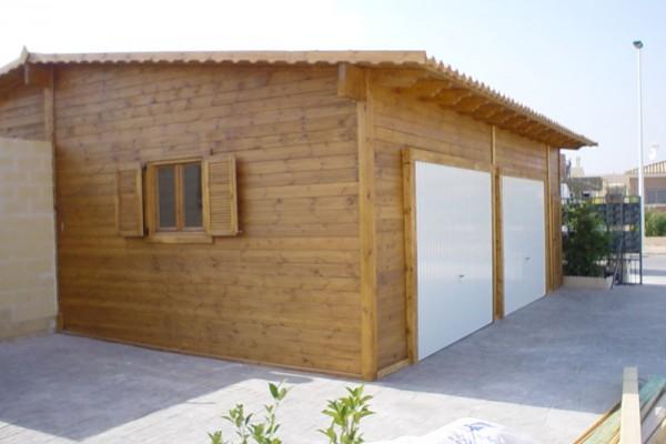 Casetas de madera en Madera Siglo XXI – Casas Naturales 2601
