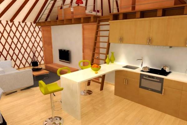Jaimas, Tipis y Yurtas en Casa Alternativa 6208