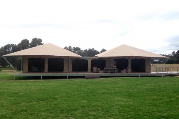 Jaimas, Tipis y Yurtas en Eco Structures 5575