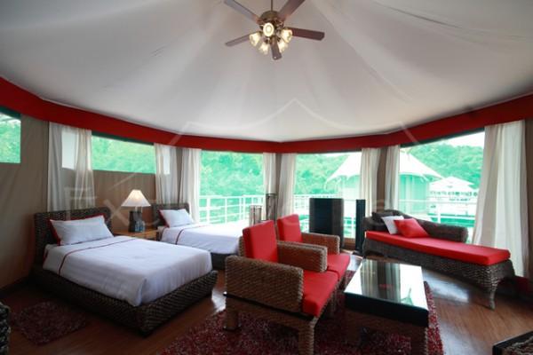 Jaimas, Tipis y Yurtas en Exclusive Tents 5496