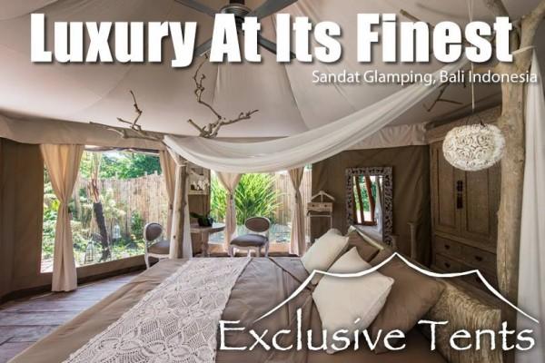 Jaimas, Tipis y Yurtas en Exclusive Tents 5499