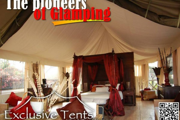Jaimas, Tipis y Yurtas en Exclusive Tents 5501