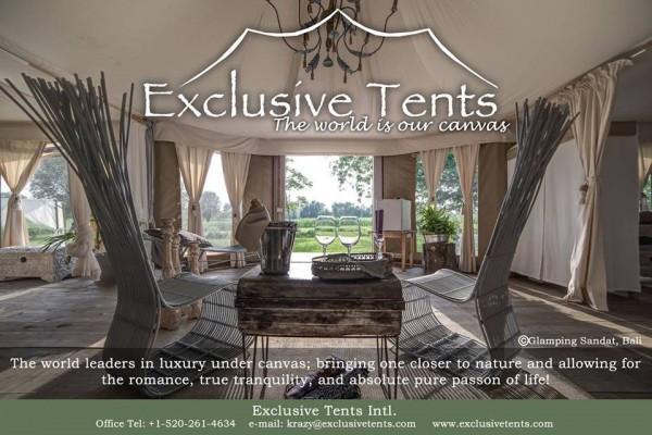Jaimas, Tipis y Yurtas en Exclusive Tents 5503