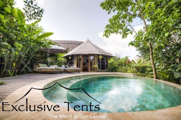 Jaimas, Tipis y Yurtas en Exclusive Tents 5504