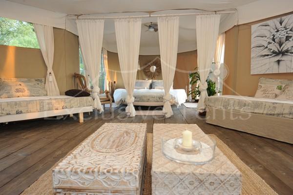 Jaimas, Tipis y Yurtas en Exclusive Tents 5489