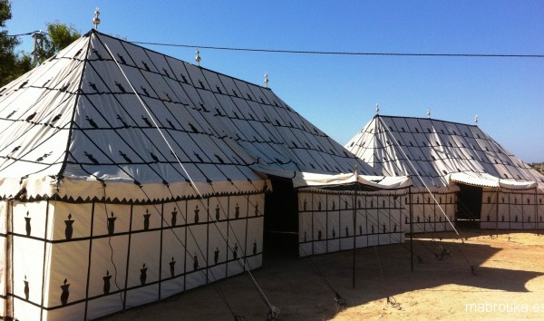 Jaimas, Tipis y Yurtas en Mabrouka 4021