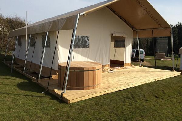 Jaimas, Tipis y Yurtas en Safari Tents 5099