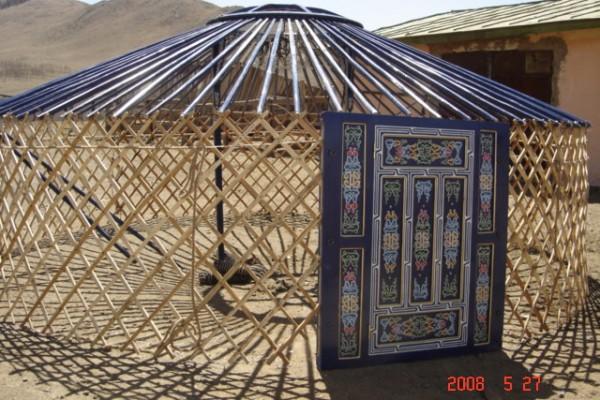 Jaimas, Tipis y Yurtas en Yurta Mongol 1591