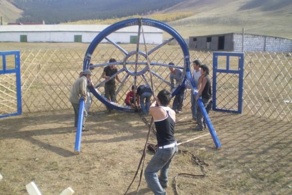 Jaimas, Tipis y Yurtas en Yurta Mongol 1594