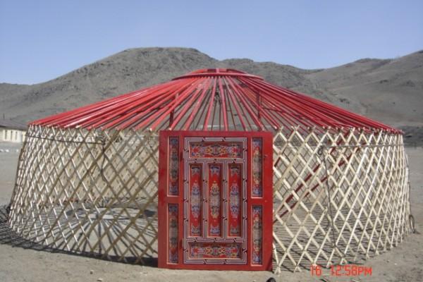 Jaimas, Tipis y Yurtas en Yurta Mongol 1596