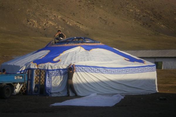 Jaimas, Tipis y Yurtas en Yurta Mongol 1600