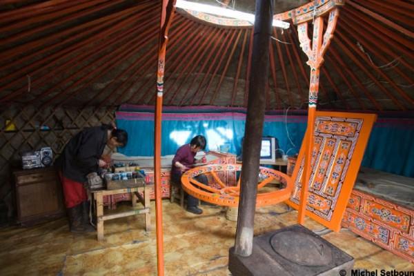 Jaimas, Tipis y Yurtas en Yurta Mongol 1608