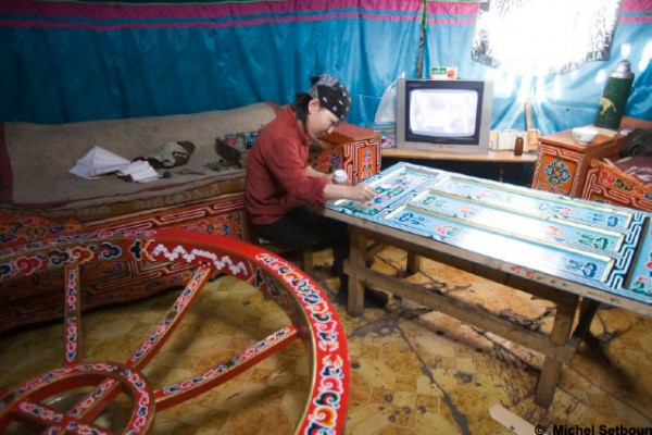 Jaimas, Tipis y Yurtas en Yurta Mongol 1623