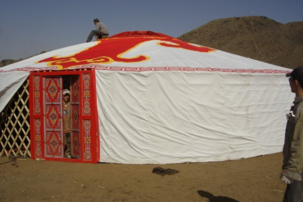 Jaimas, Tipis y Yurtas en Yurta Mongol 1589