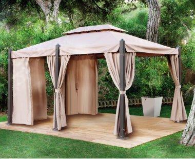 P rgolas porches y cenadores en ak viviendu for Casetas jardin aki