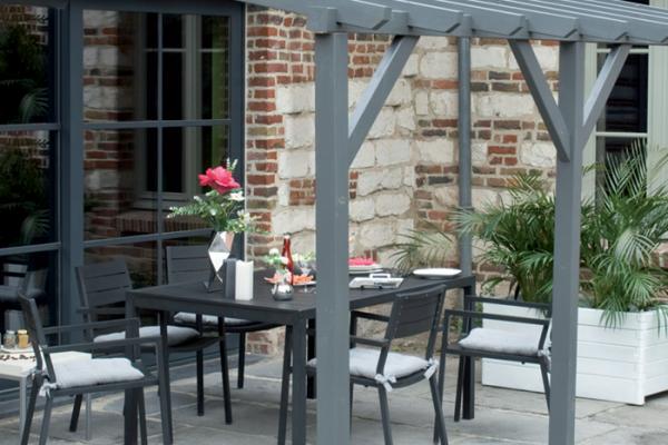 P rgolas porches y cenadores en bauhaus viviendu - Pergolas y porches ...