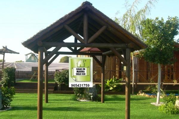 Pérgolas y Porches en Madera Siglo XXI – Casas Naturales 2653