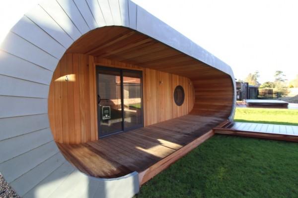 Cabañas de madera en Blue Forest 5477