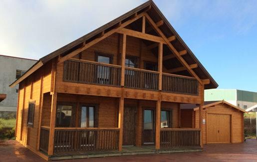 Casas de madera en daype viviendu - Casas de madera en portugal ...