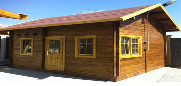 Casas de madera en DAYPE 6857