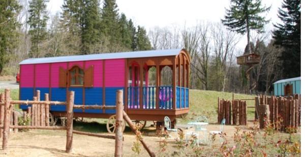Cabañas de madera en Euro Bungalow 7574