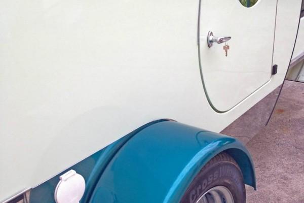 Caravanas en Gidget Retro Teardrop Camper 7799