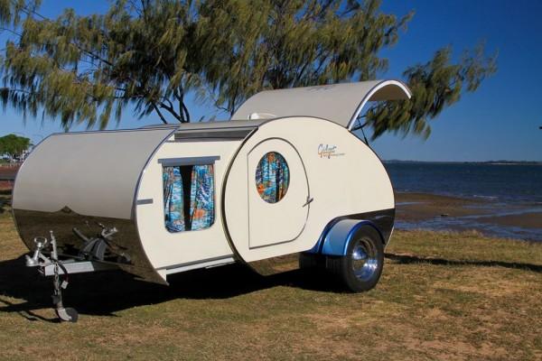 Caravanas en Gidget Retro Teardrop Camper 7901