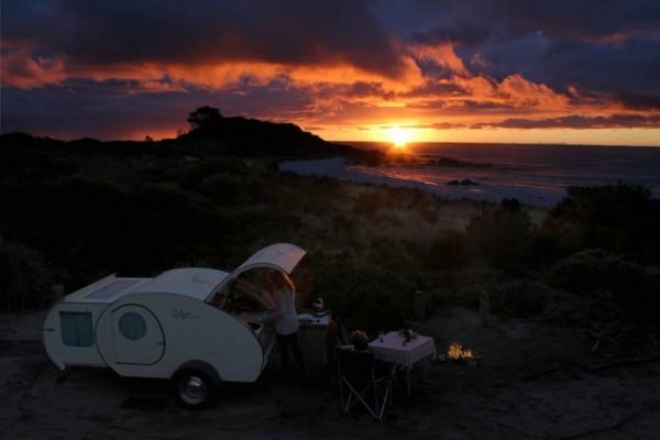 Caravanas en Gidget Retro Teardrop Camper 7928