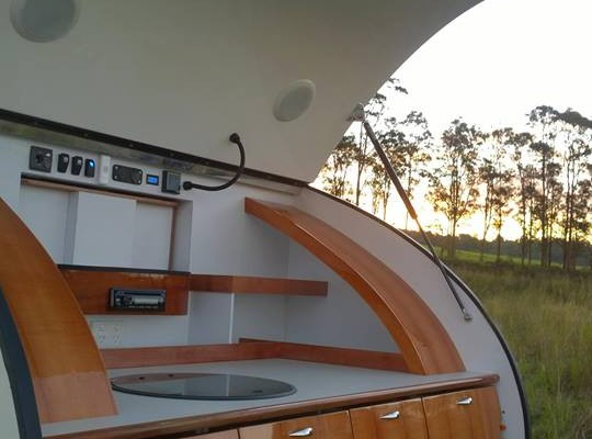 Caravanas en Gidget Retro Teardrop Camper 7807