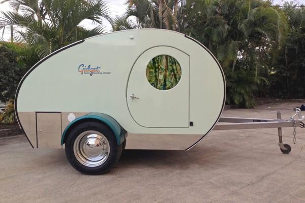 Caravanas en Gidget Retro Teardrop Camper 7792