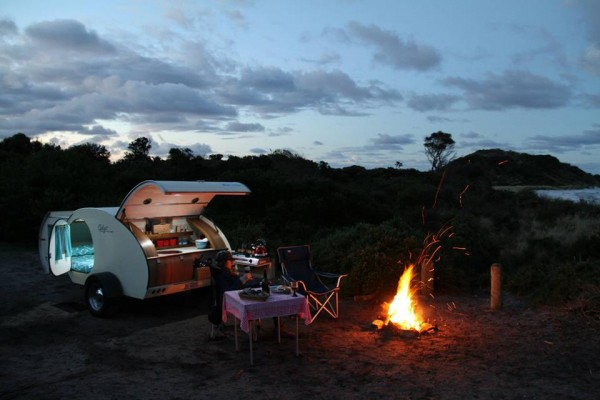 Caravanas en Gidget Retro Teardrop Camper 7827