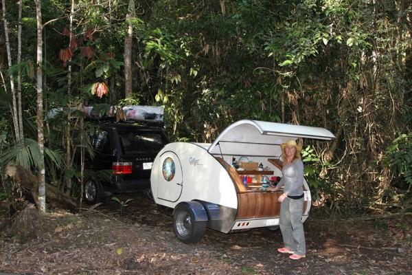 Caravanas en Gidget Retro Teardrop Camper 7829