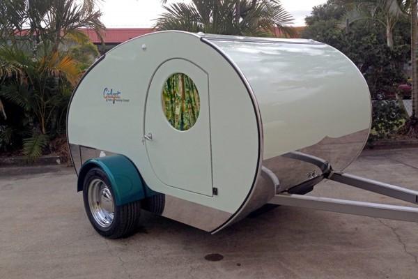 Caravanas en Gidget Retro Teardrop Camper 7794