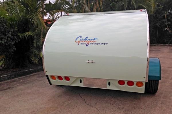 Caravanas en Gidget Retro Teardrop Camper 7790