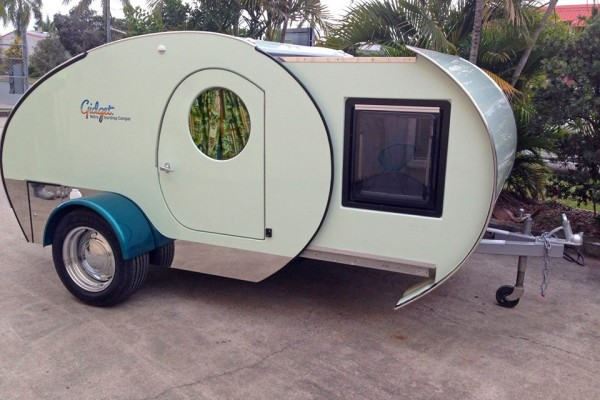 Caravanas en Gidget Retro Teardrop Camper 7798