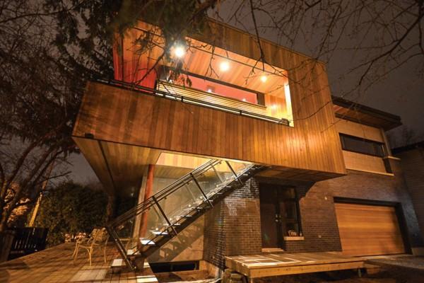 casas de madera en inteligente