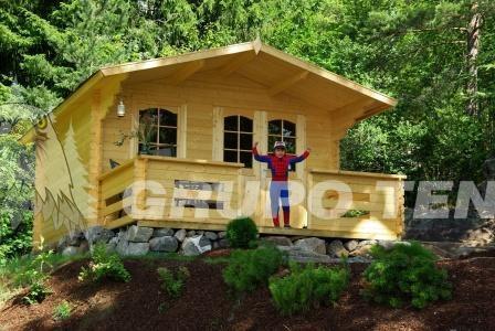 Casetas de madera en Grupo Tene 7546