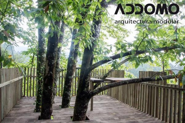Cabañas de madera en Addomo 9346
