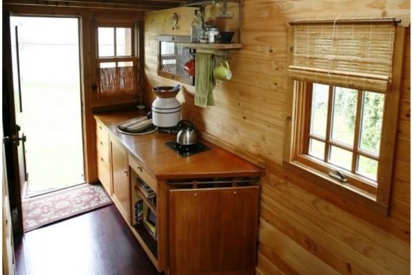 Cabañas de madera en Canadian Nordic House 9105
