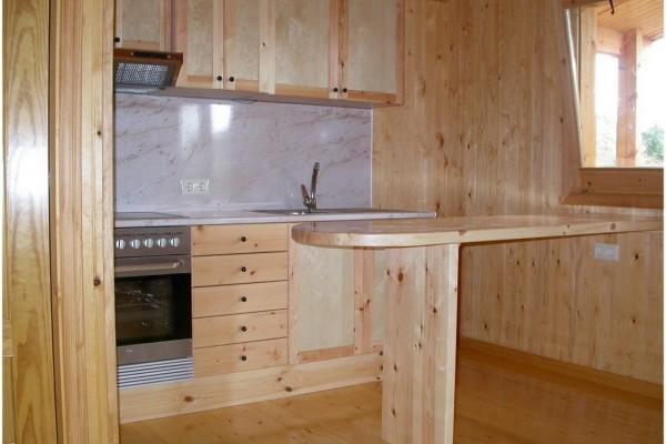 Cabañas de madera en Canadian Nordic House 9104