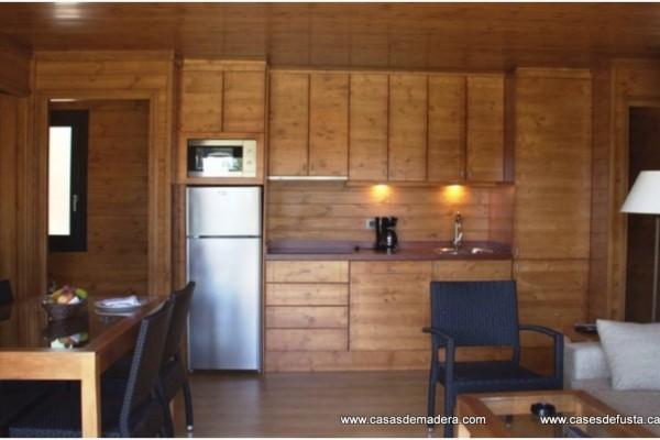 Cabañas de madera en Canadian Nordic House 9103