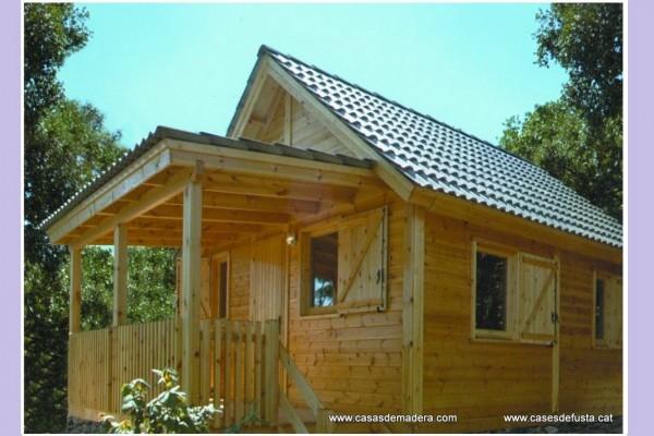 Cabañas de madera en Canadian Nordic House 9099