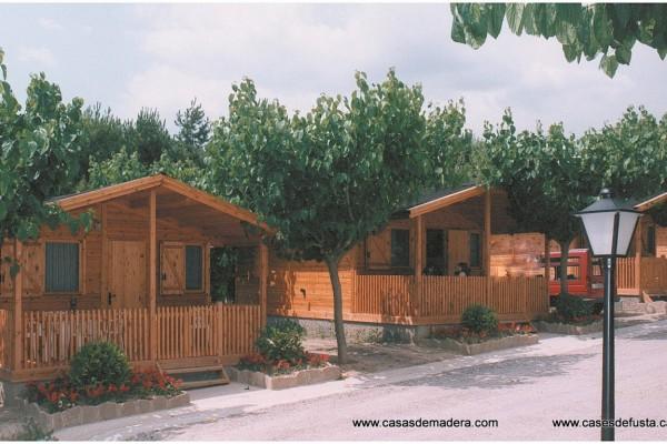 Cabañas de madera en Canadian Nordic House 9098