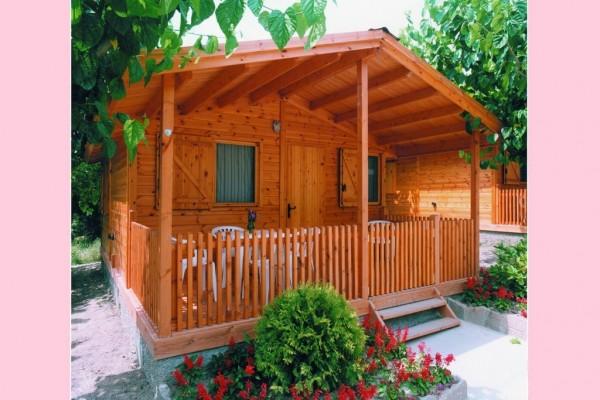 Cabañas de madera en Canadian Nordic House 9097