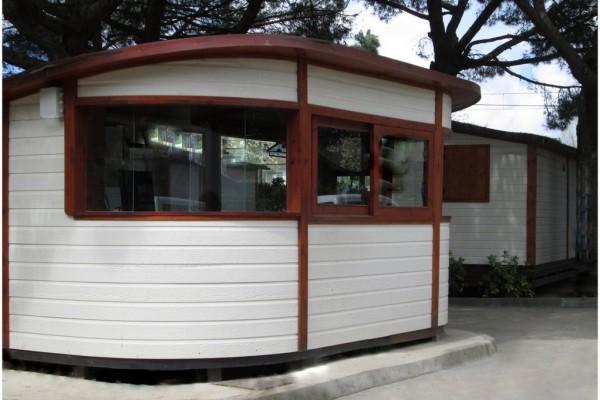 Cabañas de madera en Canadian Nordic House 9095