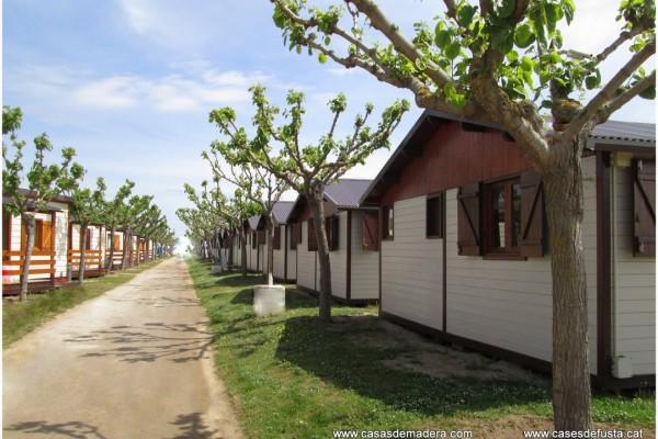 Cabañas de madera en Canadian Nordic House 9094