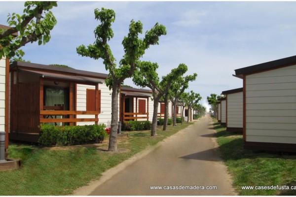 Cabañas de madera en Canadian Nordic House 9093