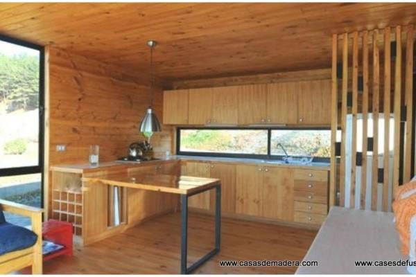 Cabañas de madera en Canadian Nordic House 9088